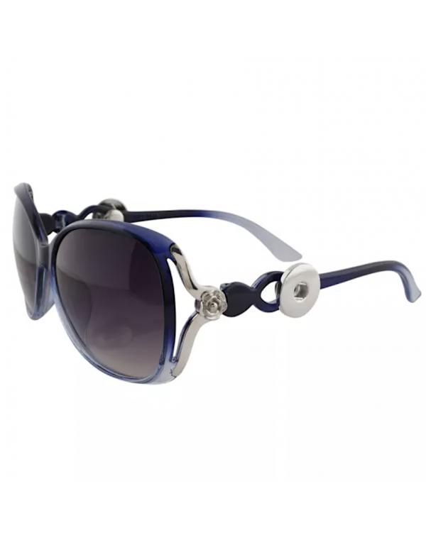 Monarch Bijoux - Blue Rose  - Sunglasses (Snap Line)