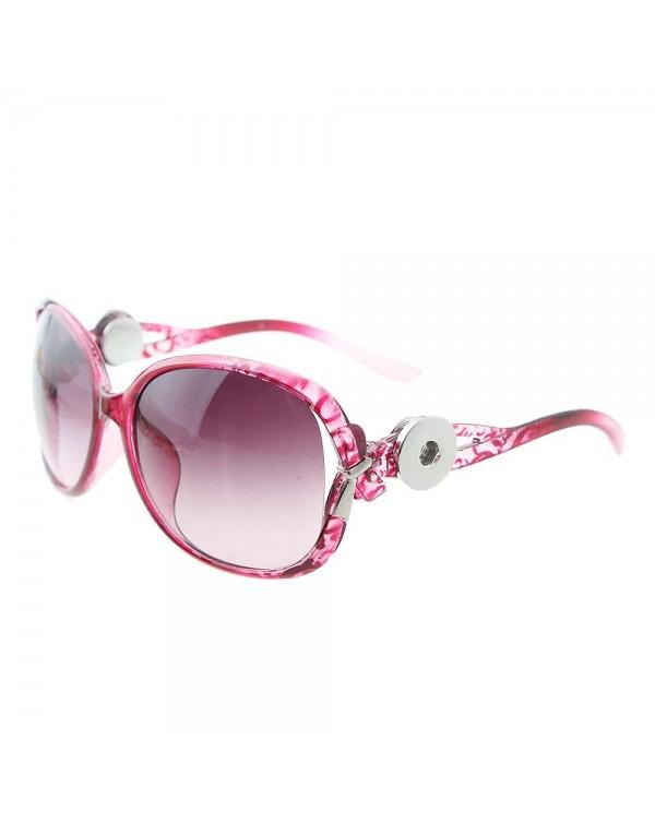 Monarch Bijoux - Fuschia Leopard Ribbon - Sunglasses (Snap Line)