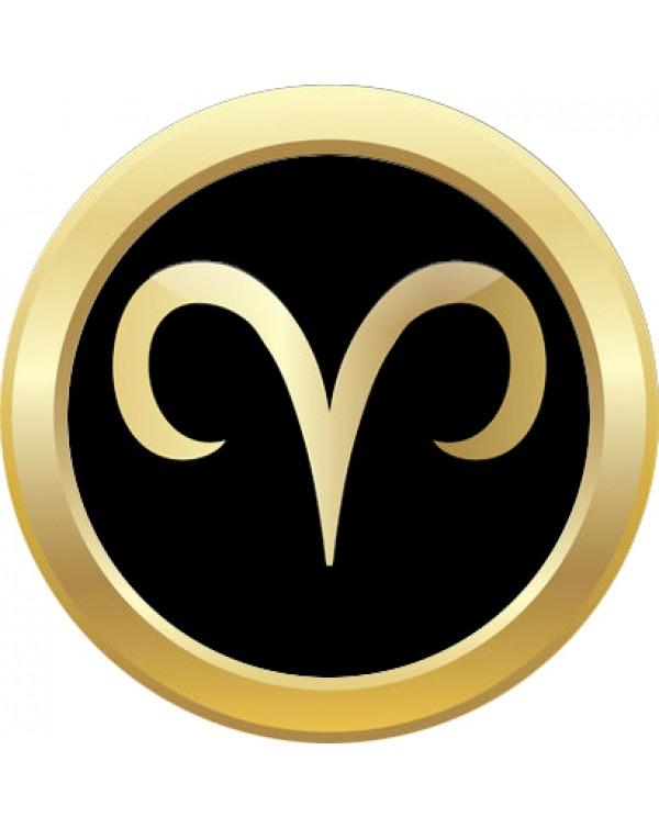 Monarch Bijoux -  Aries Horoscope - Classic Snap  (Snap Line)