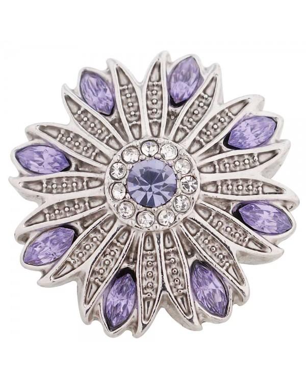 Monarch Bijoux -  'Aztec Lavender'  - Classic Snap  (Snap Line)