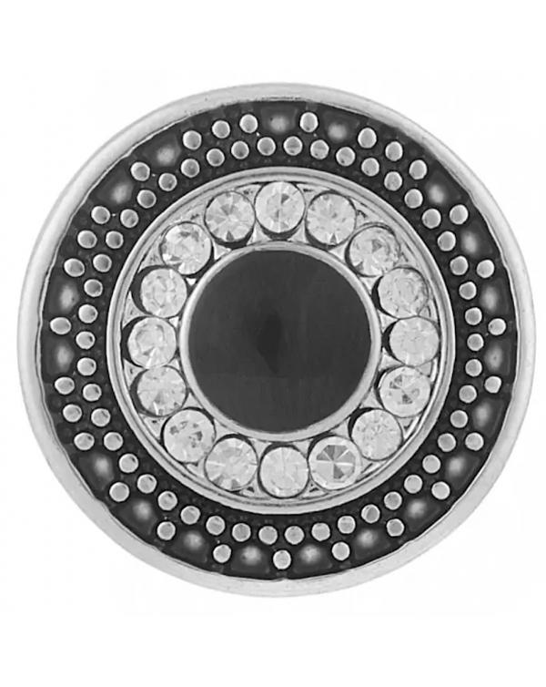 Monarch Bijoux -  Black Curio Classic Snap  (Snap Line)