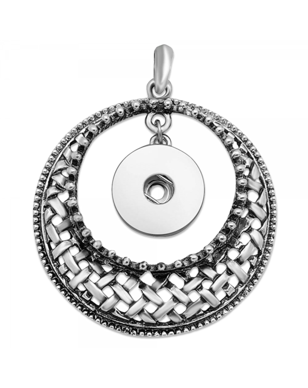 Monarch Bijoux - Basketweave Necklace (Snap Line)