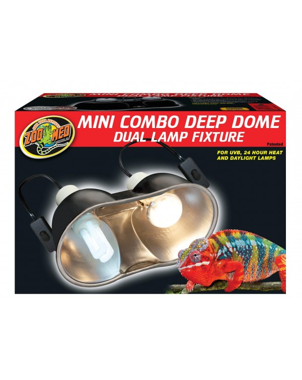 Zoomed Combo Deep Dome Lamp Fixture