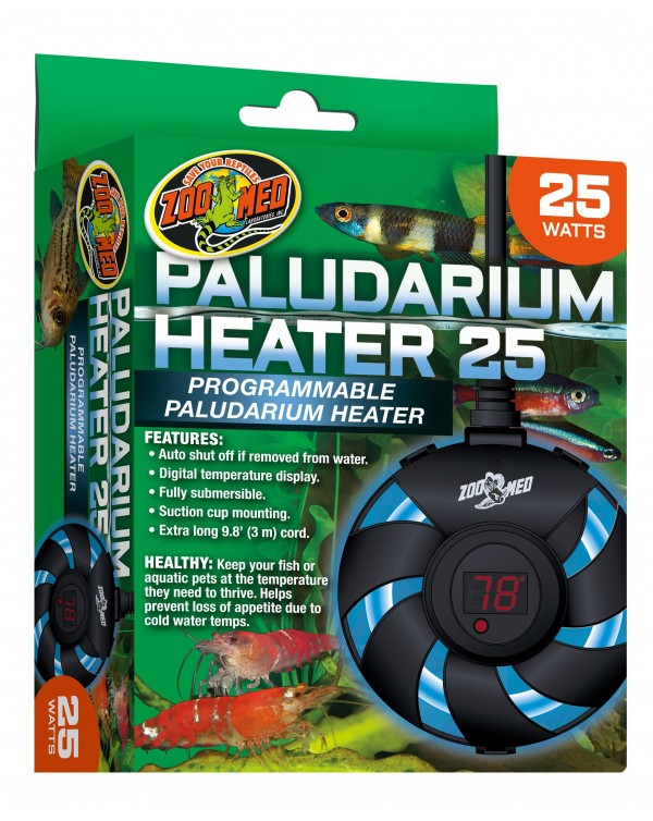 Zoomed Paludarium Heater