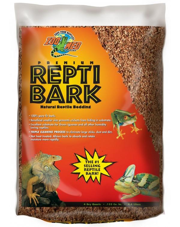 Zoomed Reptibark Bedding