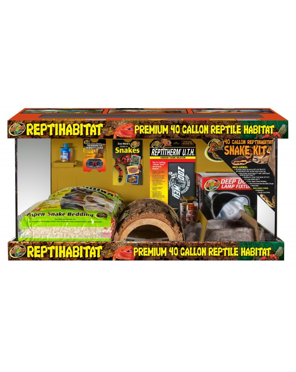 Zoomed Reptihabitat 40 gallon Complete Snake Kit