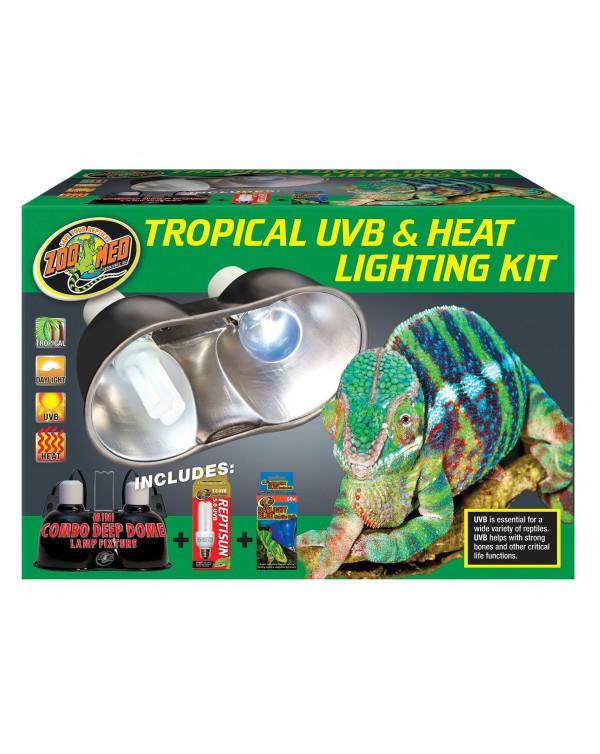 Zoomed  Tropical UVB & Heat Lighting Kit - mini